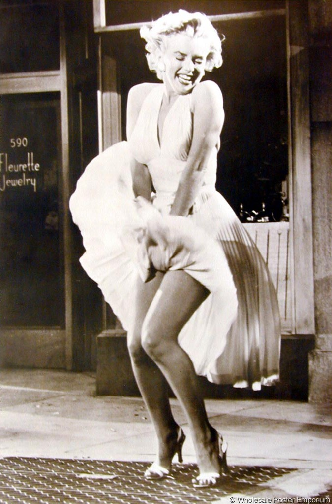 Marilyn Monroe Falda Aire